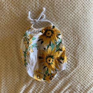 Other - Sunflower romper